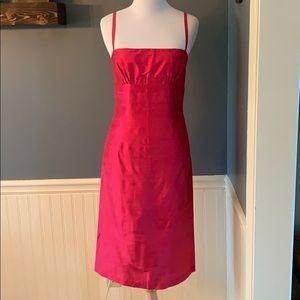 Saeyoung Vu Couture Silk Shantung Sheath Dress 4